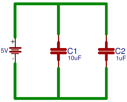 What Is The Role Of Capacitor In Ac And Dc Circuit Dc Circuit Capacitors Circuit