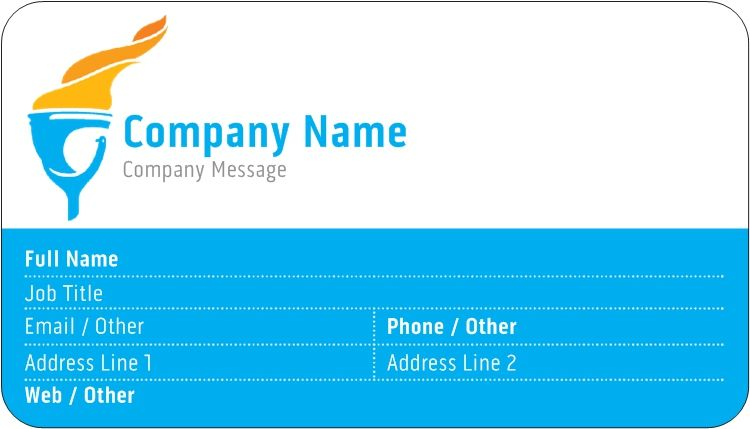 Rounded corner business cards how to memorize things