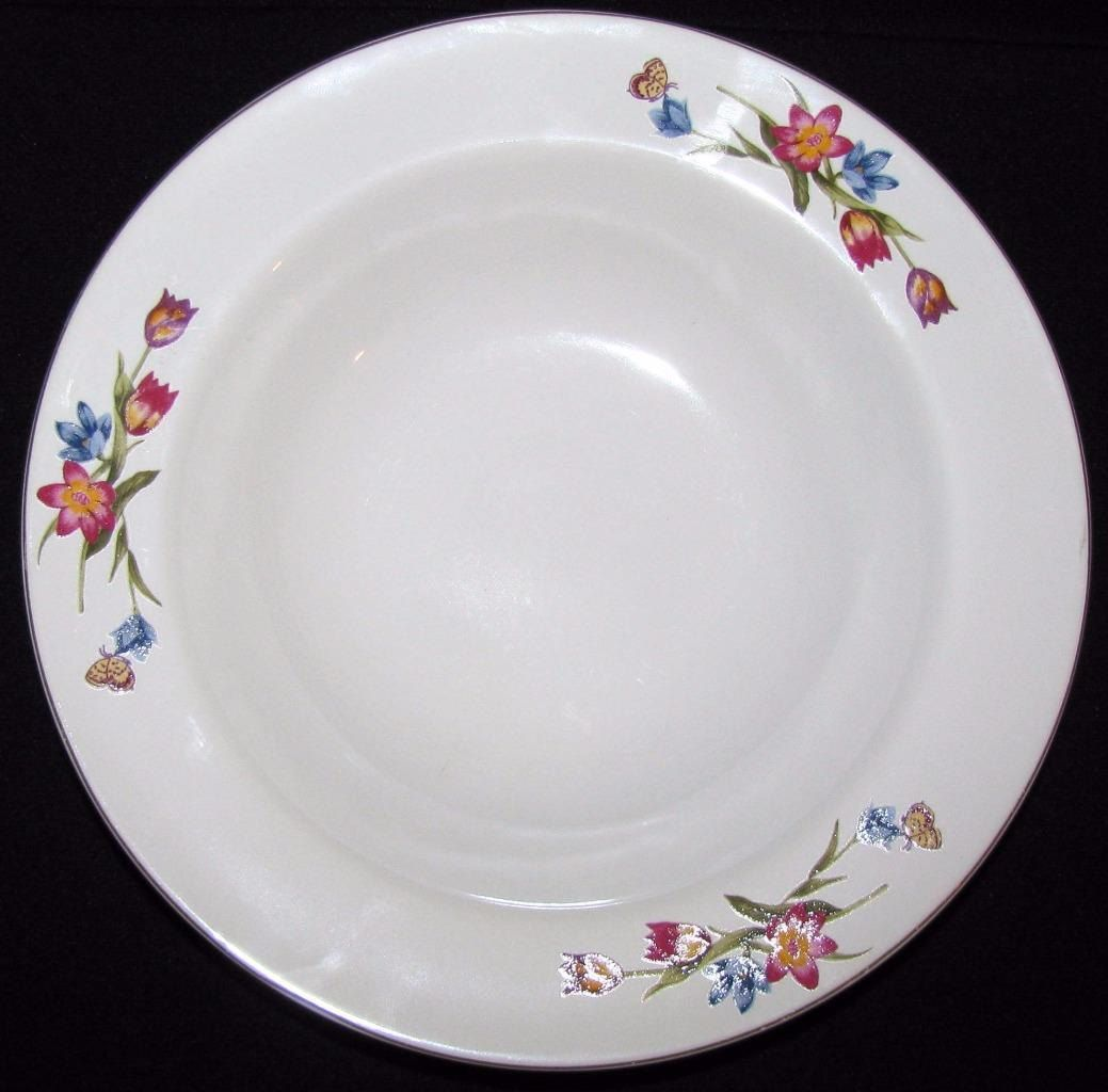 Epoch GARDEN BLOOM E204 Lot of 5 Soup Cereal Bowls Dinnerware Excellent Condition by libertyhallgirl on & Epoch GARDEN Bloom E204 Soup Cereal Bowl Dinnerware Excellent ...