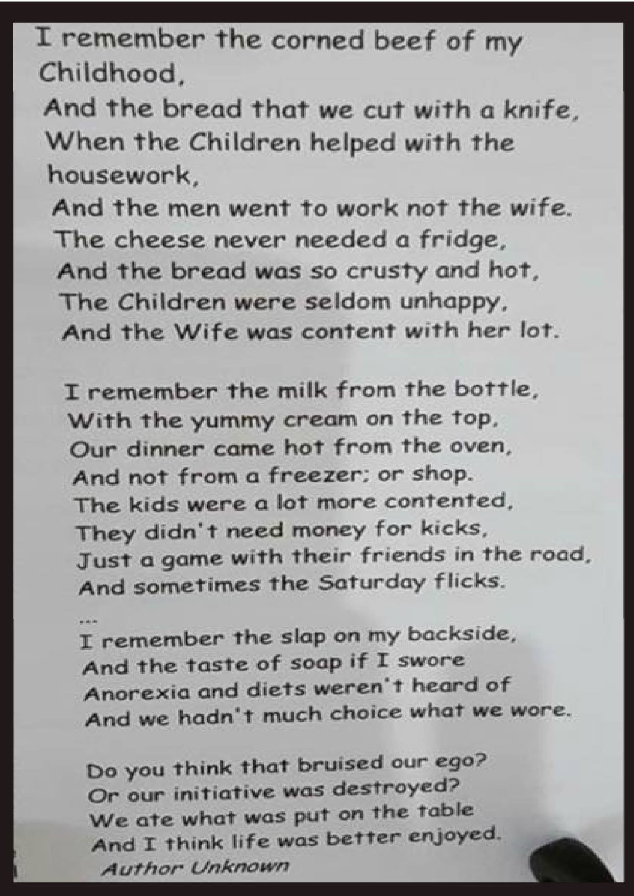 childhood memories sign quotes the good old days inspirational