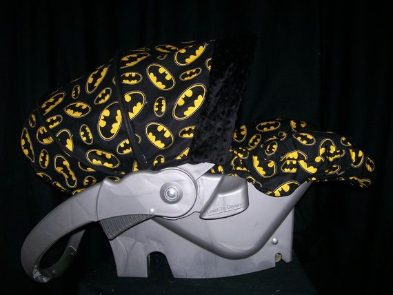 Batman Infant Car Seat Cover By QuinnsQuilts On Etsy