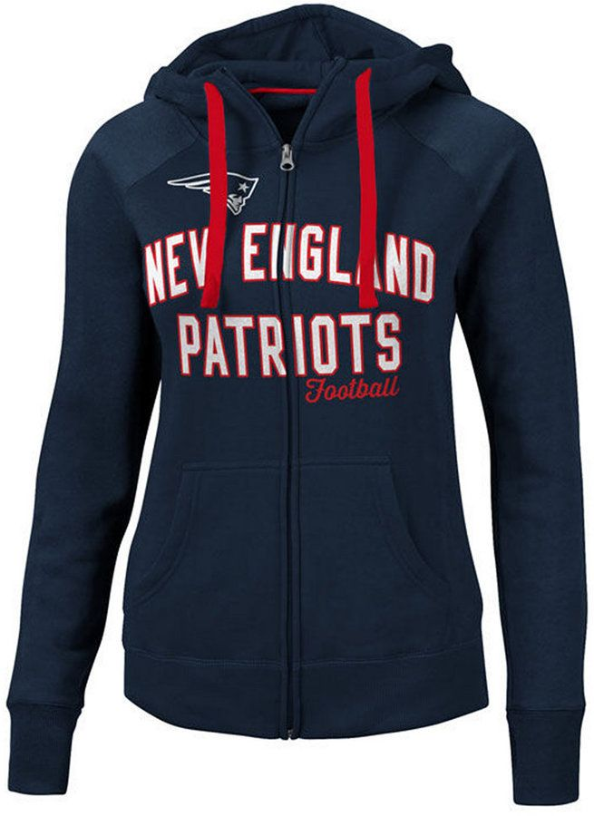 G-iii Sports Women s New England Patriots Conference Full-Zip Jacket ... a126155fd5