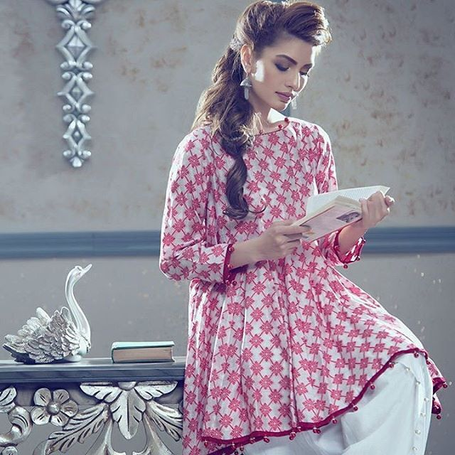 982c747c4e Semi Formal Wear. Shop our stunning Red Flare Kurti in Rs. 3999 - only from  www.zaibunnisa.pk  semiformal  stunning  redflare  partywear  officewear ...