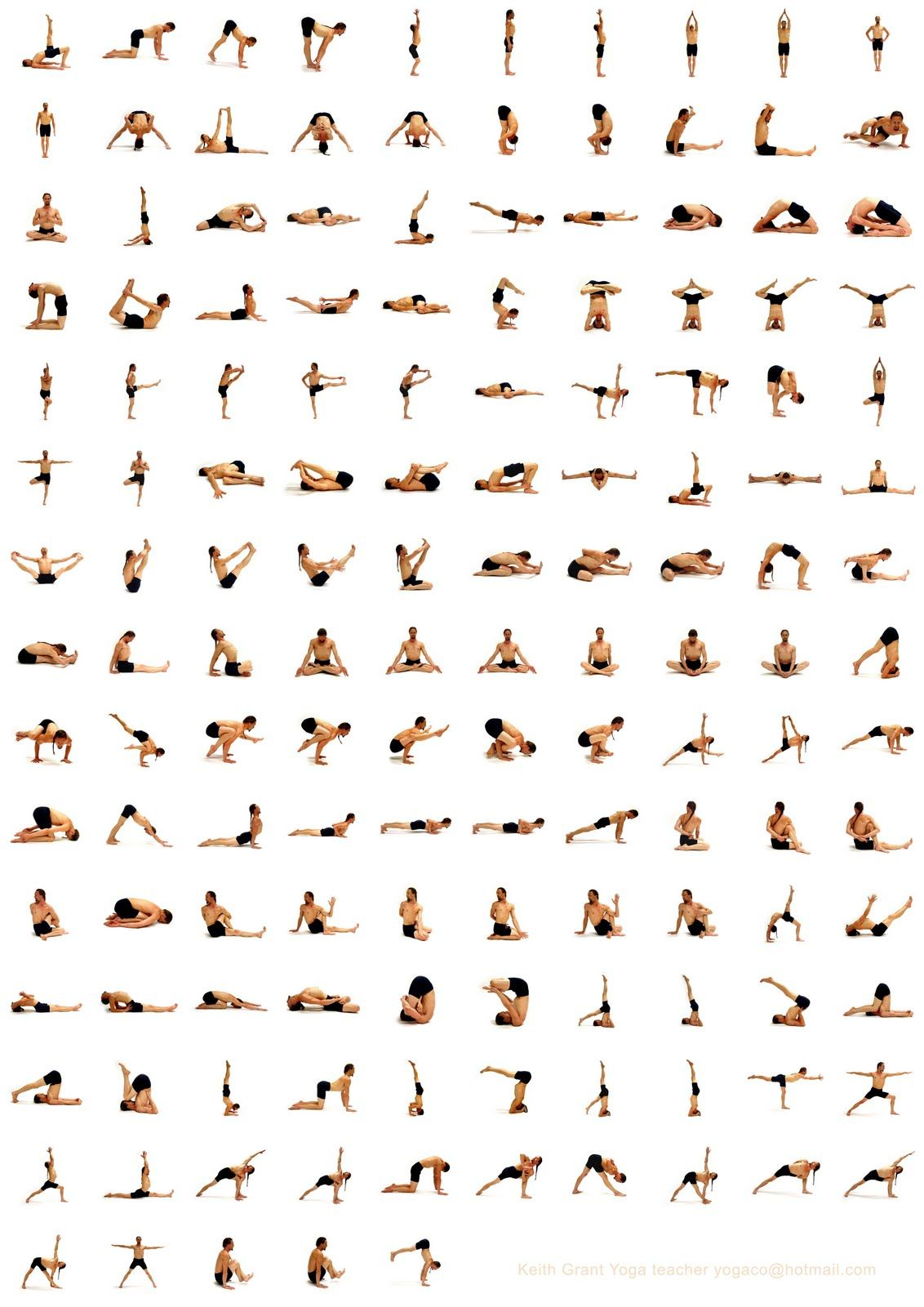 to keep you busy - yoga posed, chart | yoga | Pinterest ...