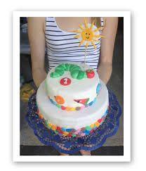 Bildergebnis für 1 geburtstag torte raupe nimmersatt