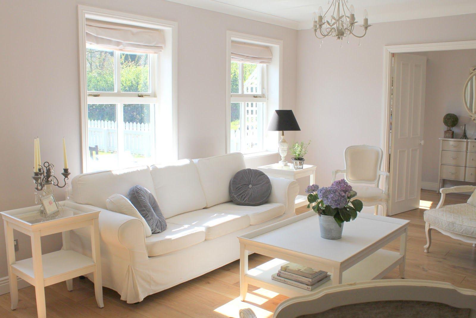 White Sofa Living Room Interior Idea For Home White Sofa