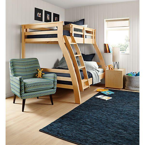 Griffin Duo Bunk Bed Modern Kids Furniture Modern Kids Beds Bunk Beds