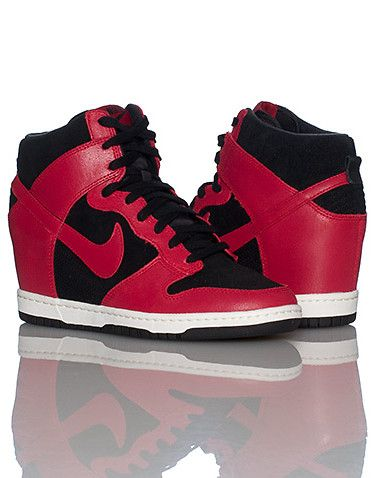 low priced a8cd8 1b215 NIKE WOMENS DUNK SKY HIGH...for comfy days!
