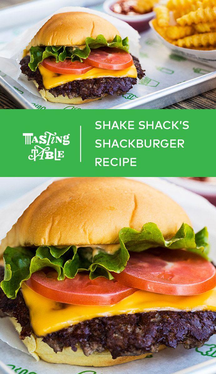 Shake Shack S Classic Cheeseburger Recipe Homemade Burgers