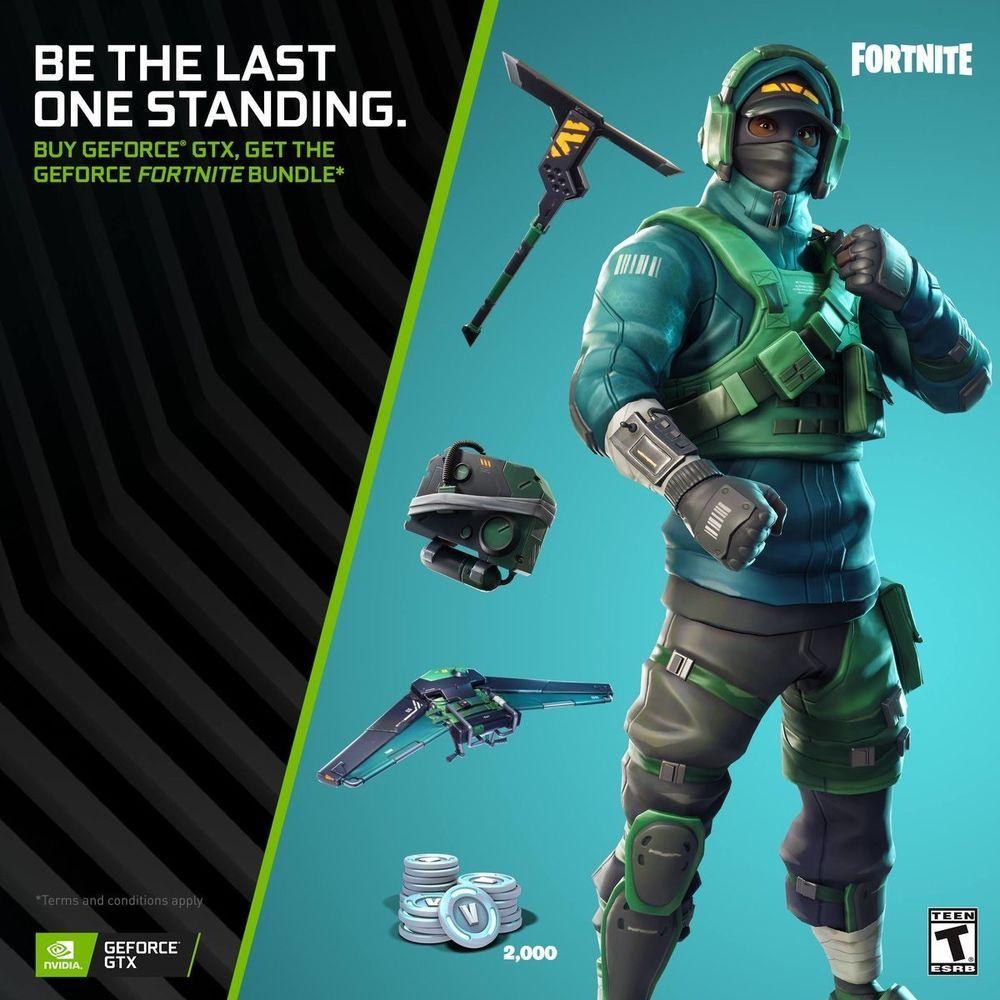 Nvidia Geforce Gtx Fortnite Bundle Avadirect