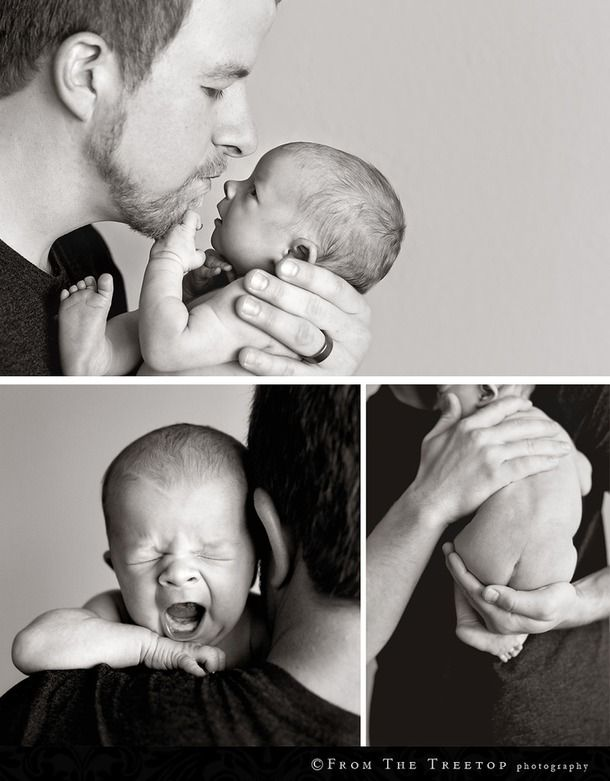 aww...future father baby pics!! love these! :)