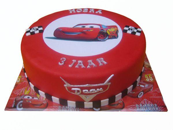 verjaardagstaart cars