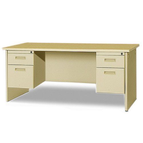 Marvel Double Pedestal Desk 60 X 30 By Marvel 595 00 Durable