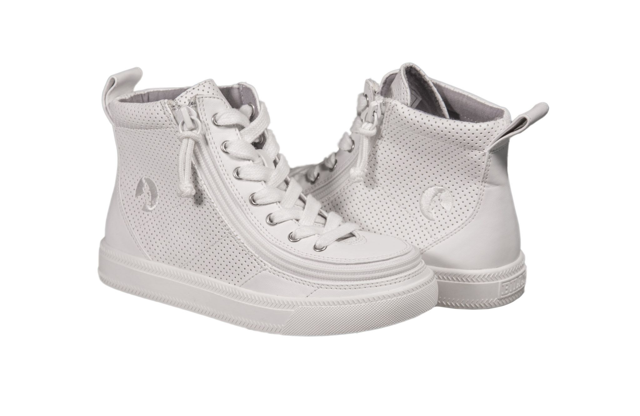 60f75f2f7b9 The BILLY Classic High (White Perf) features innovative FlipTop™  technology