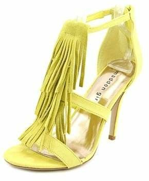 f13cc502b8e Love the fringe  heels  shoes  shopstyle  ssCollective  afflink Yellow Heels