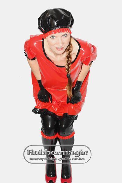 Rubbermagic - Latex-Babydoll-Kleid | Latex Nightwear ...