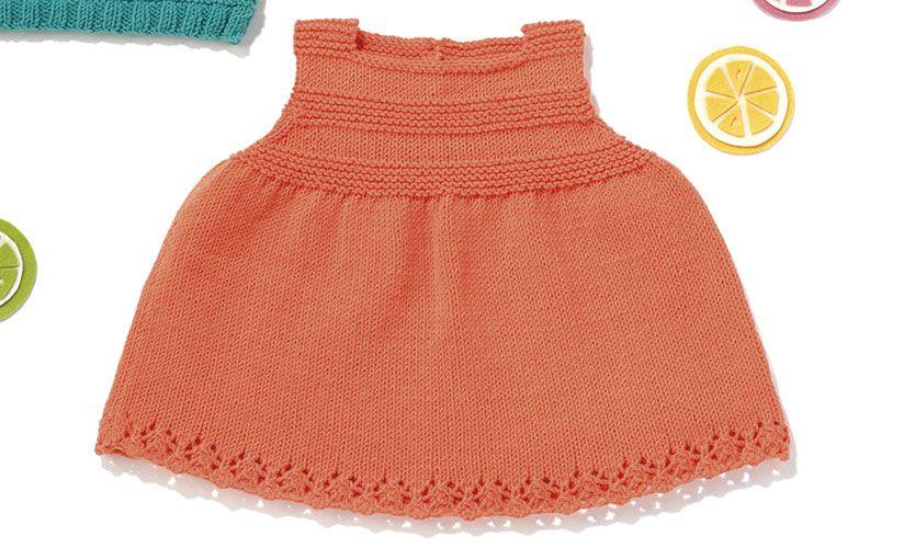 Revista bebé 80 Primavera / Verano | 51: Bebé Vestido | Naranja ...