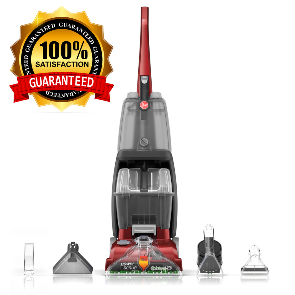 Details About Hoover Carpet Cleaner Professional Turbo Scrub