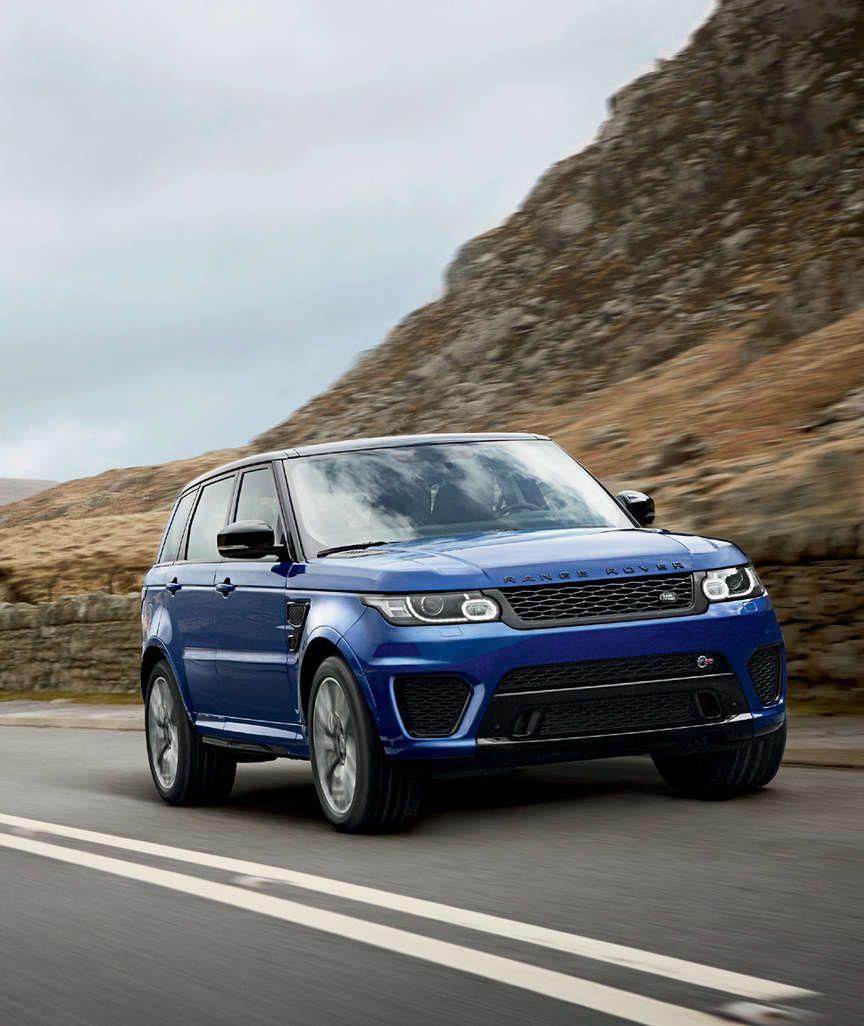 SPORT SVR MIT 550 PS IM TEST Der schnellste Range Rover aller Zeiten
