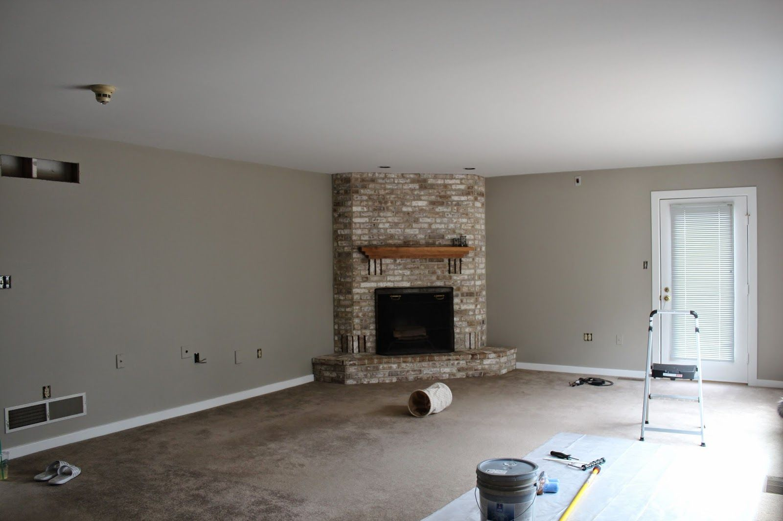 All Deck D Out Family Room Makeover Amazing Gray Sherwin