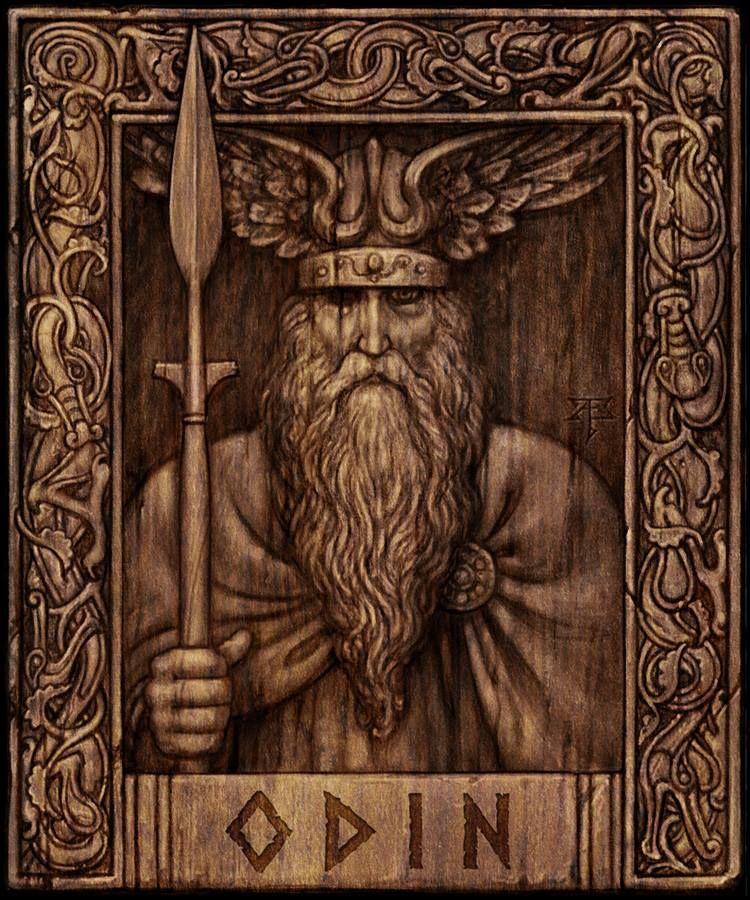 Картинка боги викингов