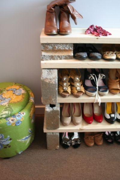 simple cinder wood shoe rack wood shoe rack shoe rack on wood shoe rack diy simple id=76265