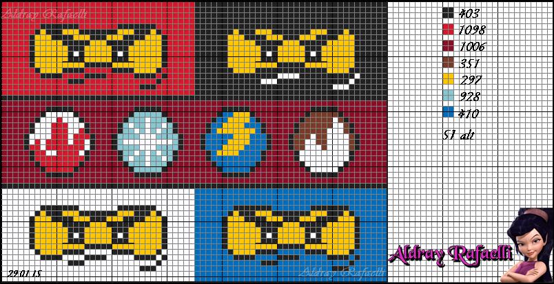 Lego Ninjago Pattern By Aldray Ferreira Aktiviteter