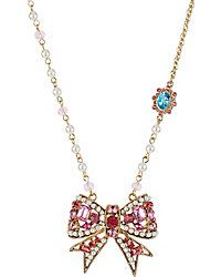 Necklaces - Shop Women's Fashion Charm Necklaces from Betsey Johnson