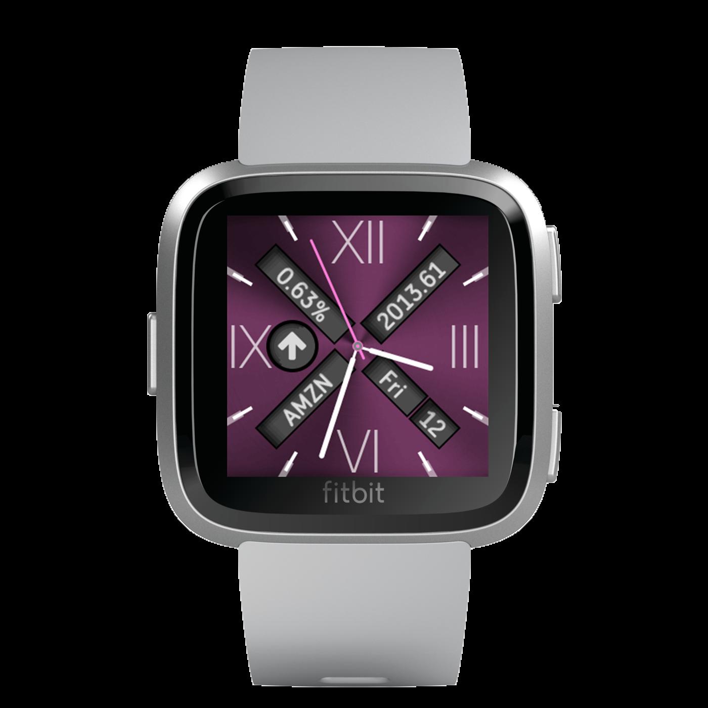 has amazing fitbit watchfaces