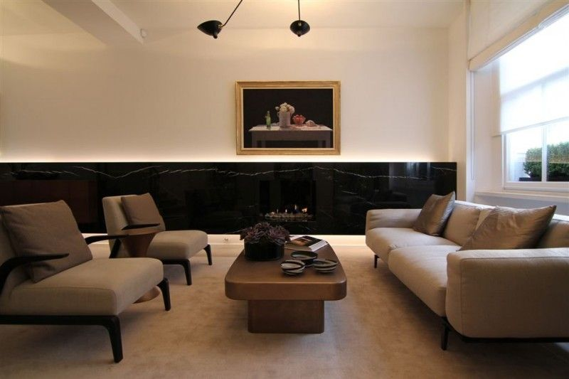 Elegant Knightsbridge Renovation By Rajiv Saini U0026 Associates. Modern RoomContemporary  Interior DesignHome ...