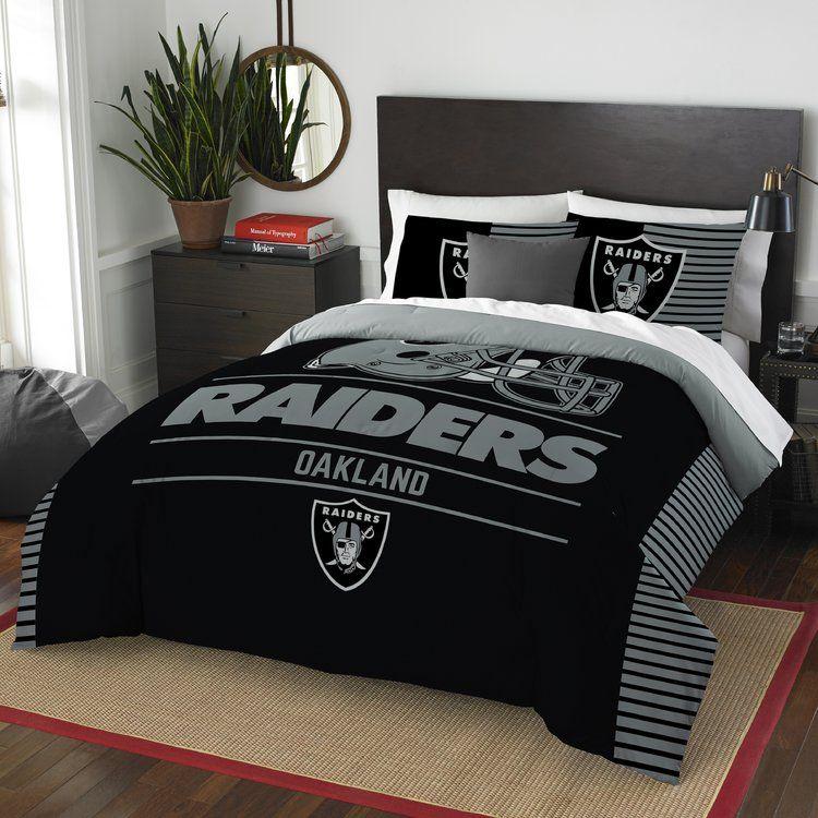 Queen Comforter Sets, Oakland Raiders King Bedding