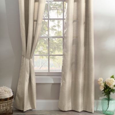 Taupe Curtain Panel Set 84 In