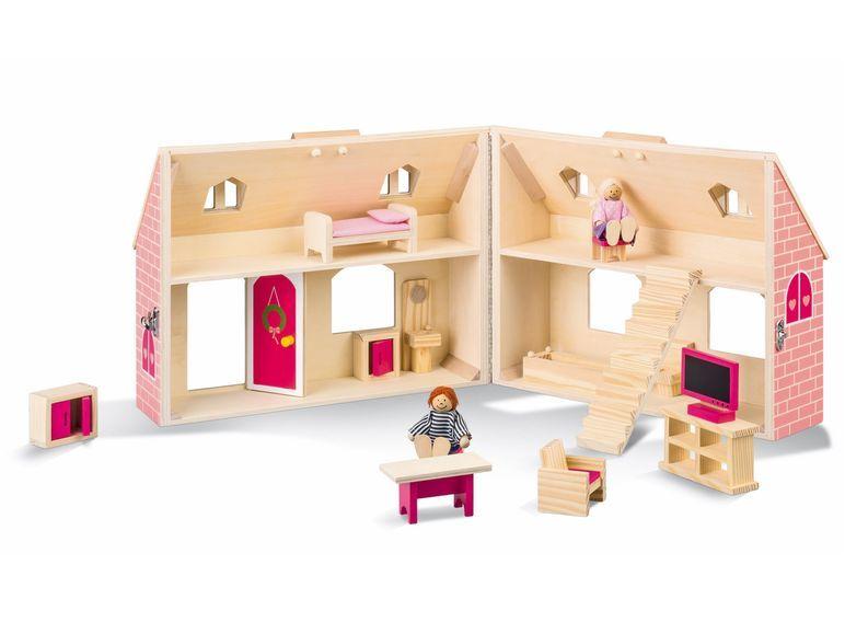 playtive® junior holz-puppenhaus oder bauernhof - lidl deutschland