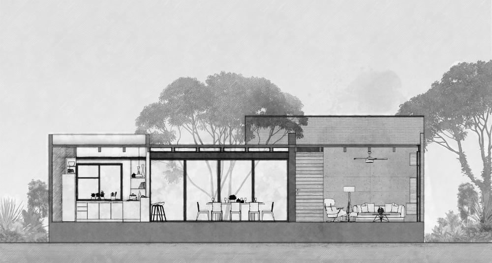 Gallery Of Keita House Di Frenna Arquitectos 19 In 2020 House Gallery Modern House