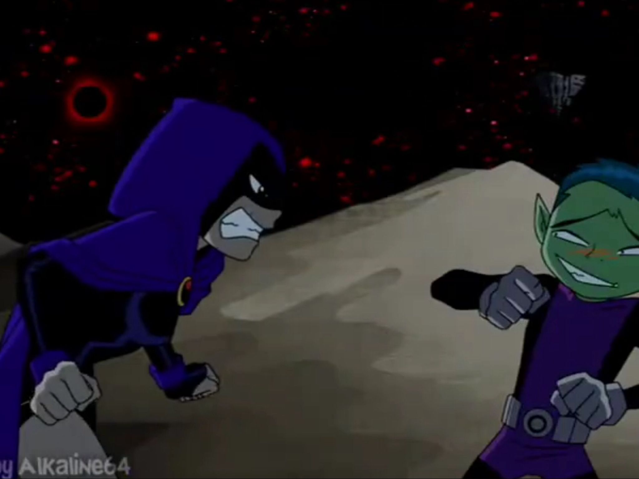 Teen Titans Raven And Beast Boy  Beast Boy And Raven -9002