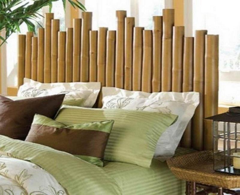Ideas para hacer cabeceros originales y baratos Cabecero, Decorar - muebles de bambu modernos