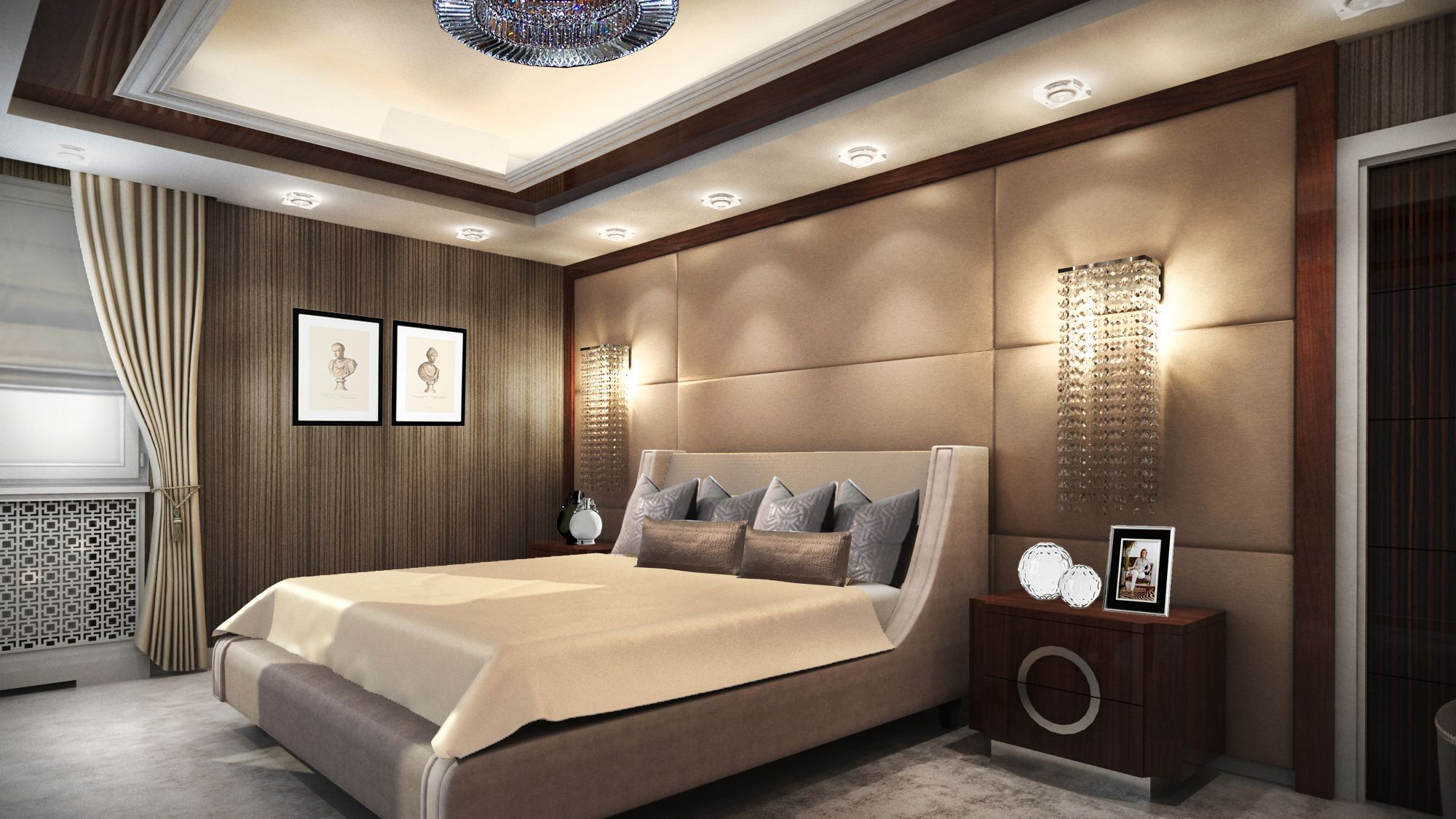 Best Elegáns Hálószoba Elegant Bedroom Living Room Dining 400 x 300