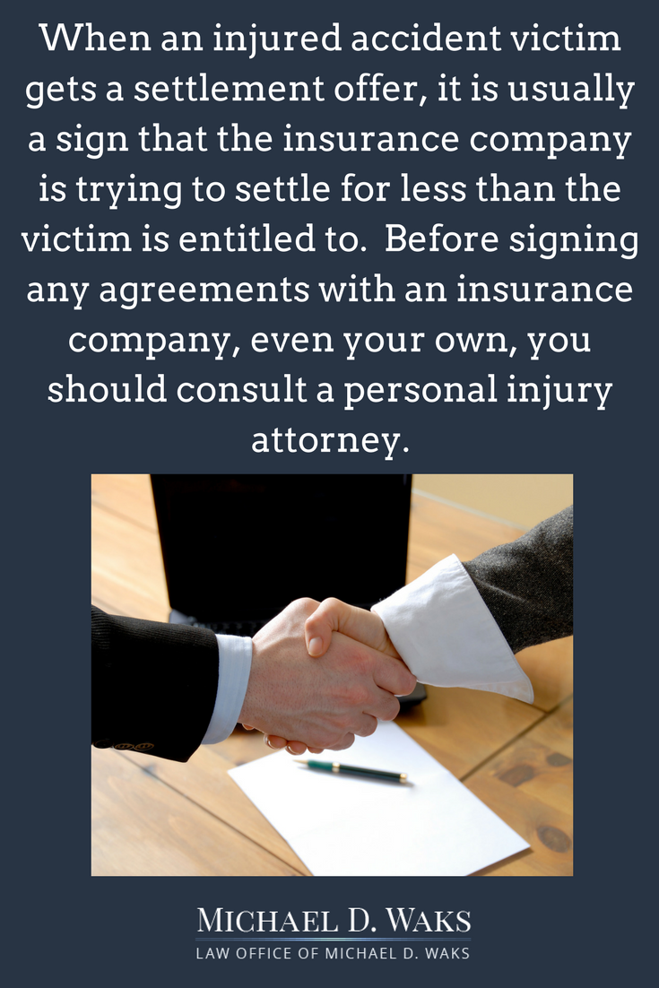 Top Reasons To Talk To A Personal Injury Attorney Before Signing A