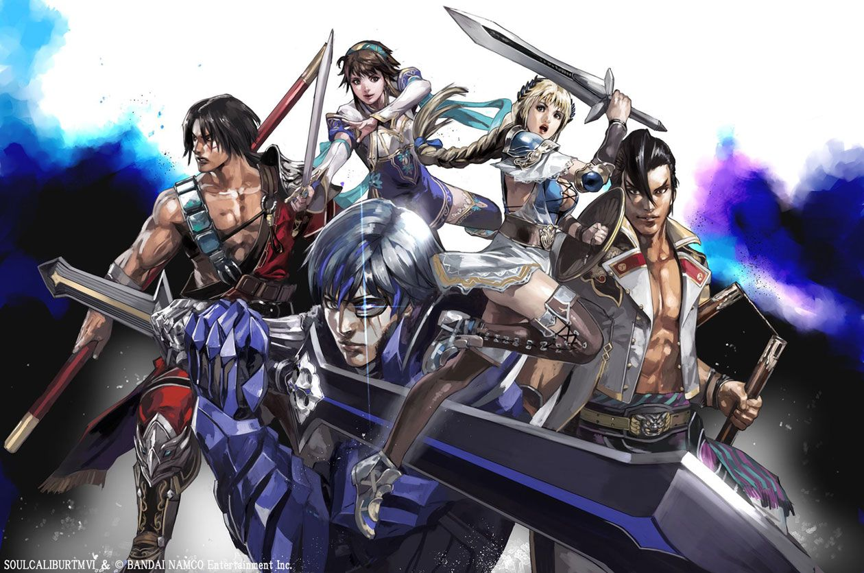 Characters Illustration Concept Art From Soulcalibur Vi Art