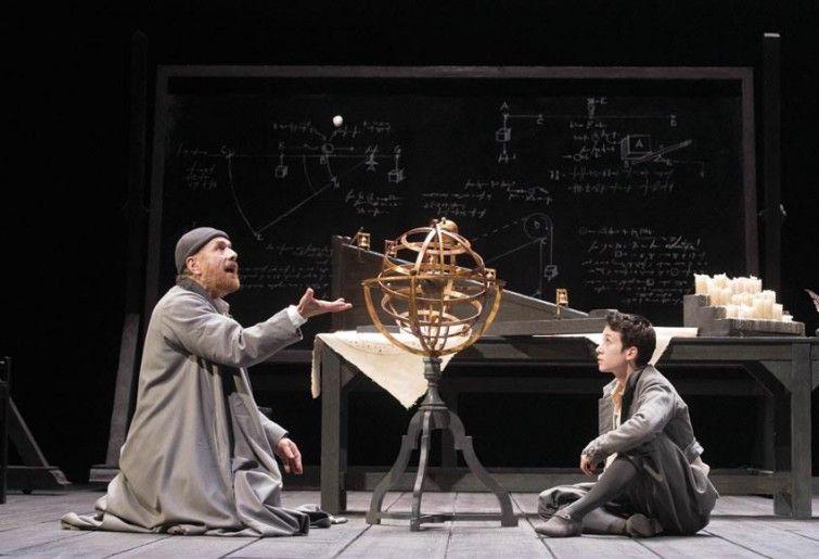 Vita di Galileo di Bertolt Brecht 2015, regia Gebriele