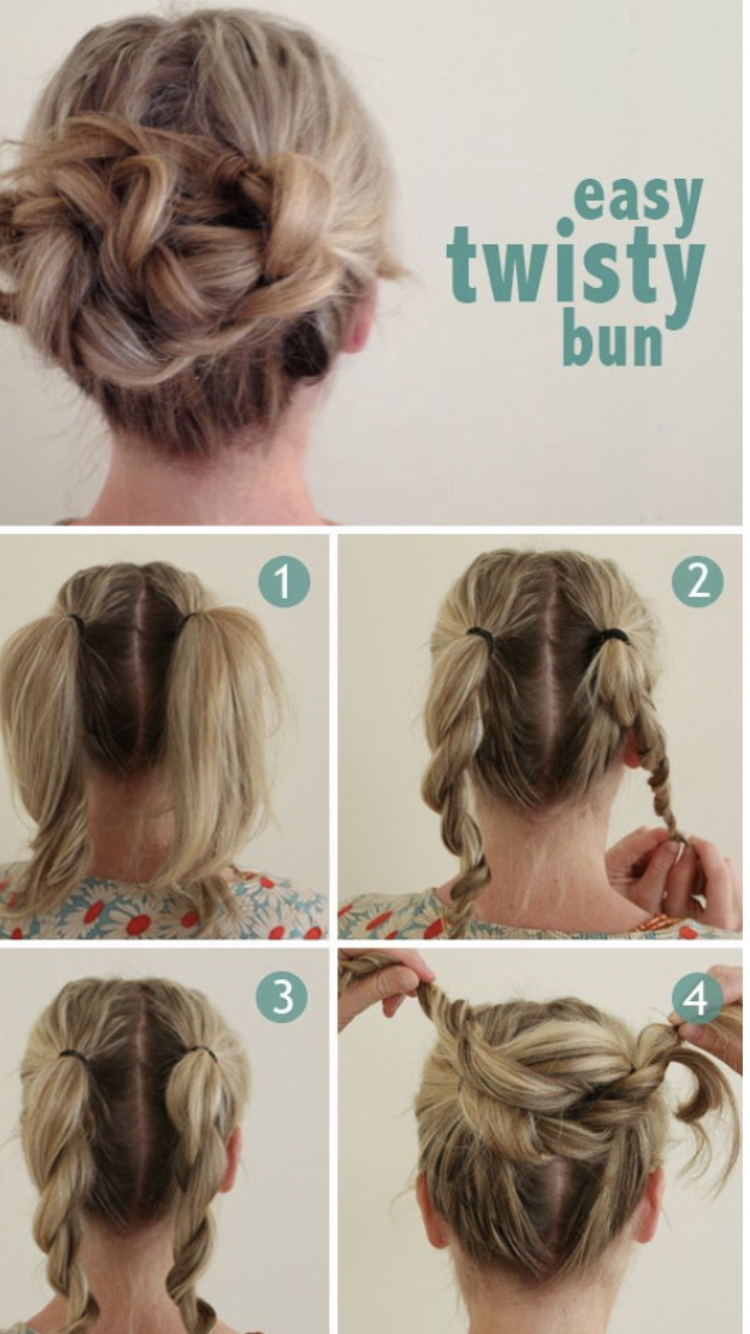 Pin by Violet on Hair styles (With images) | Hair lengths, Medium hair  styles, Hair hacks