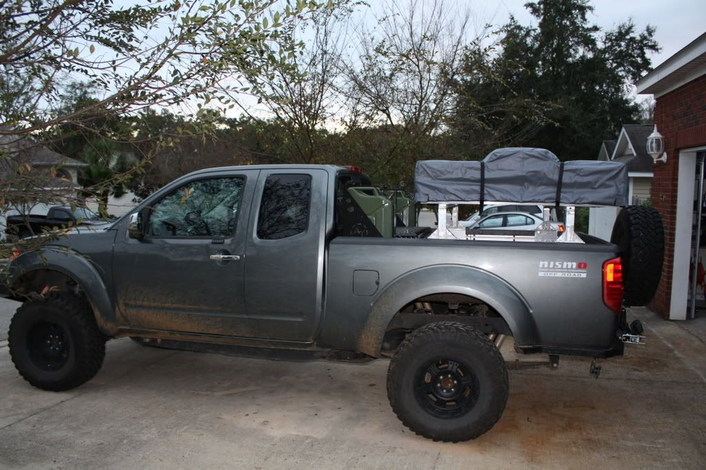 06 Nissan Frontier Bed/ Bumper/ Swing Way/ Rack/ Camping Lab Tent/ UWS Tool  Box Combo   Expedition Portal
