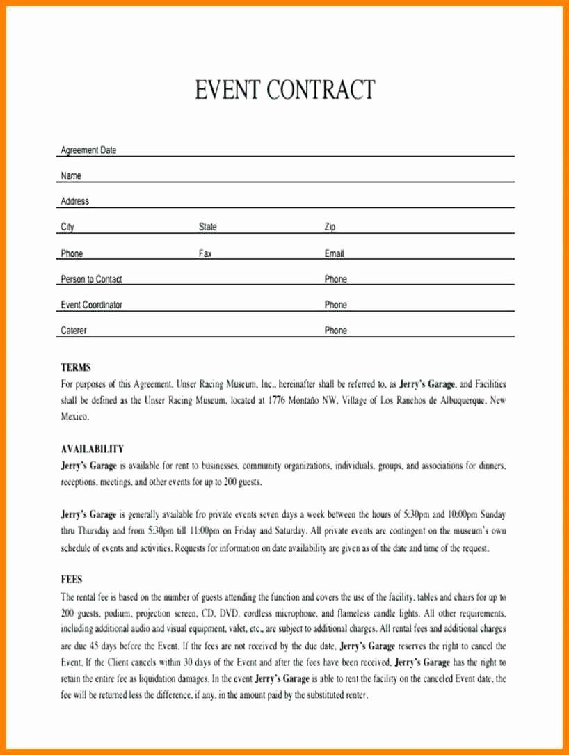 Event Venue Contract Template Beautiful Event Planner Contract Sample Invest Wight Event Planning Contract Event Planning Template Event Planner Contract