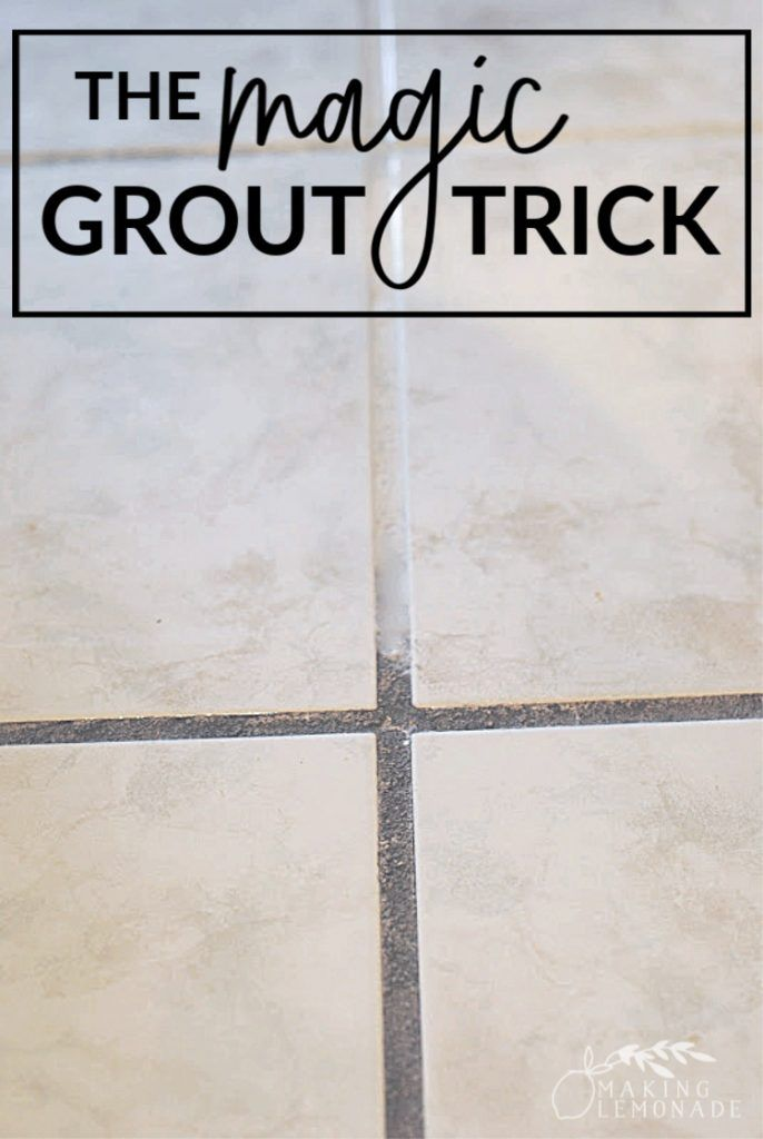 3 Top Secret Tricks For Cleaning With Vinegar Grout