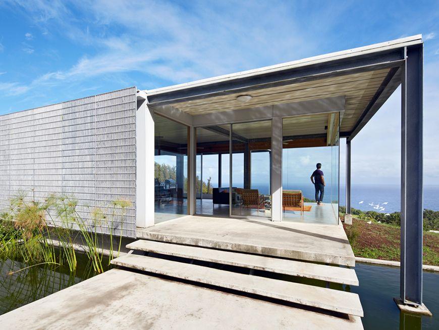 haus in hawaii aus feuerverzinktem stahl haus feuerverzinken stahl haus und garten. Black Bedroom Furniture Sets. Home Design Ideas