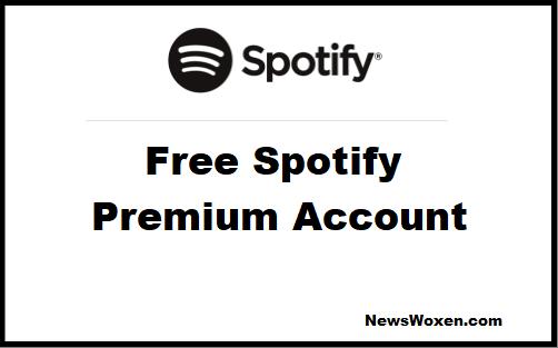 free spotify premium account november 2018
