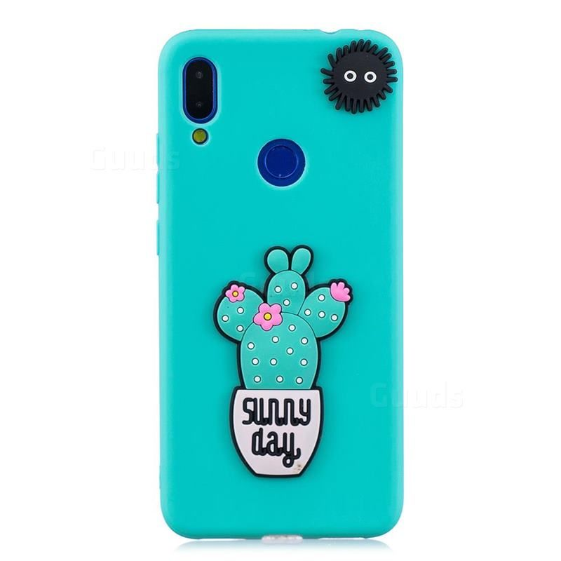 Cactus Flower Soft 3d Silicone Case For Xiaomi Mi Redmi Note 7 Note 7 Pro Xiaomi Redmi Note 7 Note 7 Pro Cases Guuds Silicon Case Flower Soft Note 7
