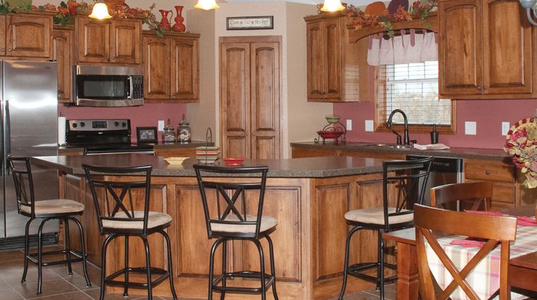 Koch Cabinets - Rustic Beech | Kitchen, Dream kitchen