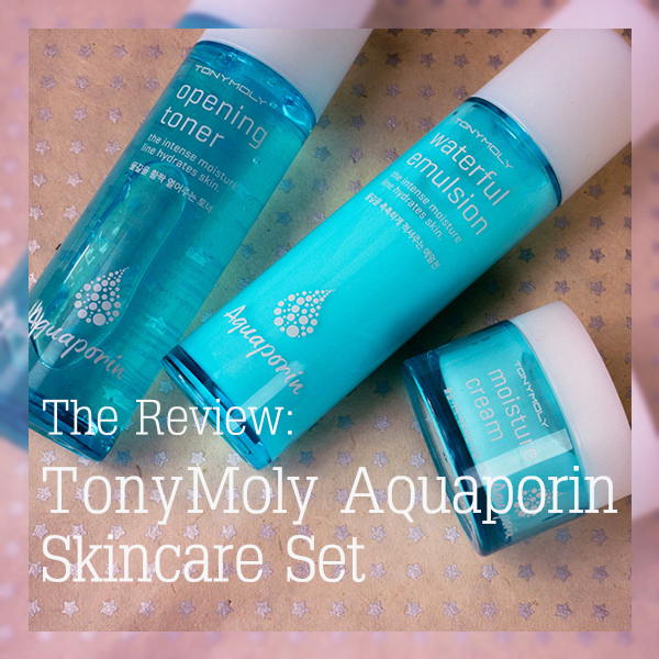 A skin care set especially for those with dry skin who hate heavy greasy products.