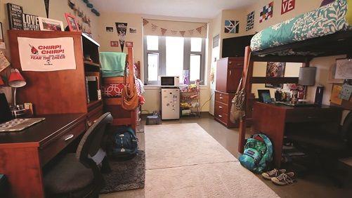 Ball State Park Hall Dorm Room Dorm Room Dorm Room